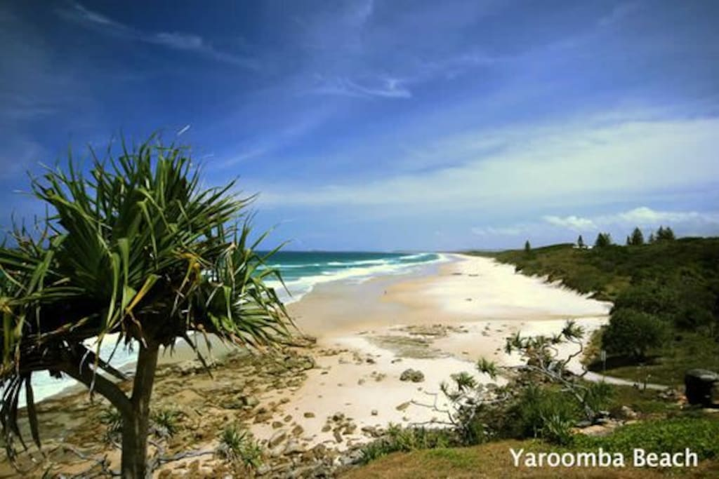 Our wonderful Yaroomba beach is an easy 5 minute walk down the hill