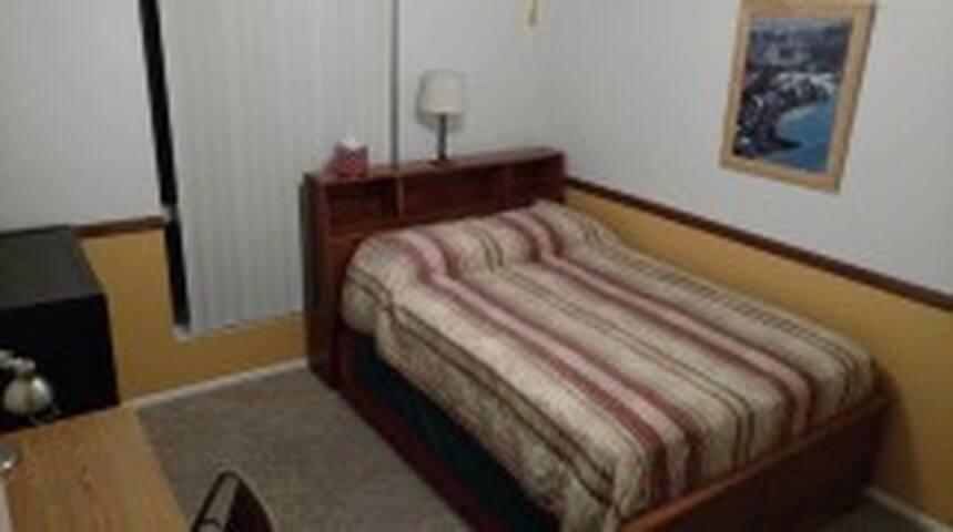 Double bed in corner room - Mesa - Haus