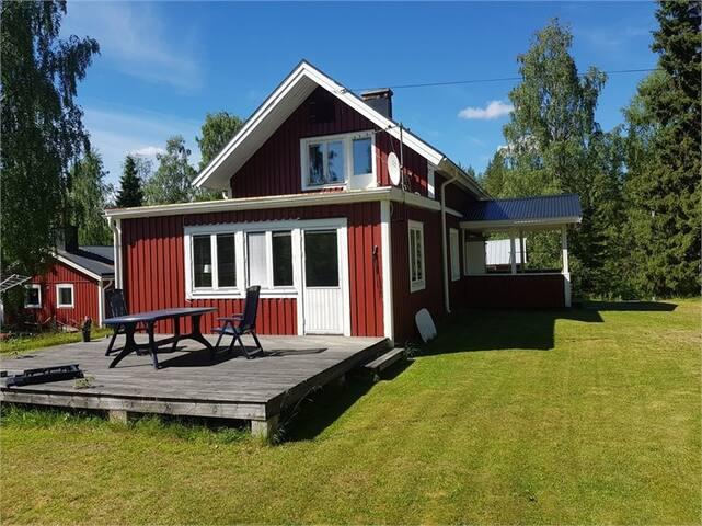 Maison charmante en Laponie Suédoise