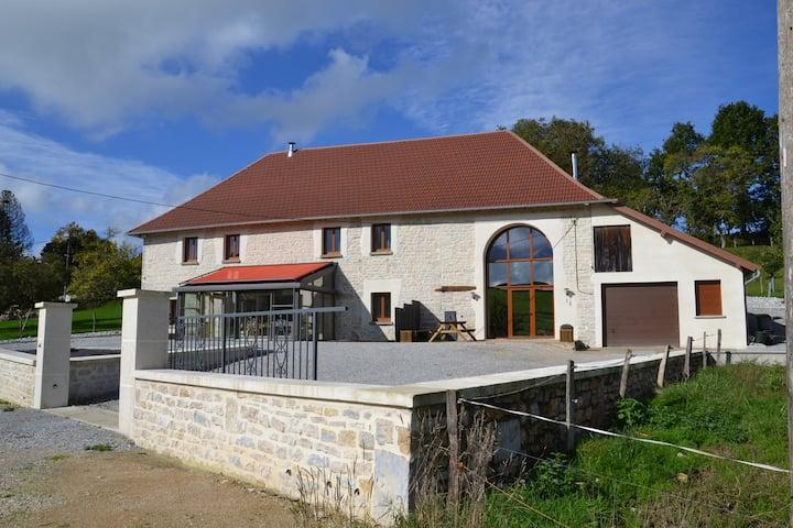 Gîte-Ensuite with Bath-Countryside view-3 Etoiles Meublé Tourisme