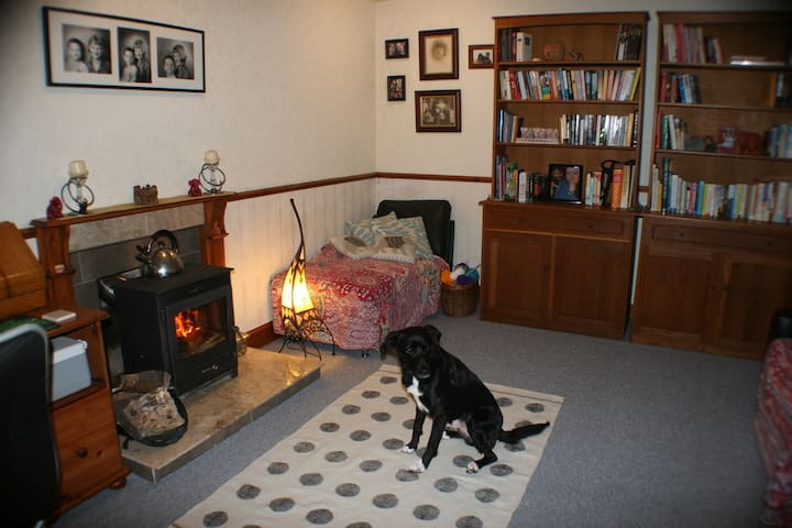 Shared space sitting room