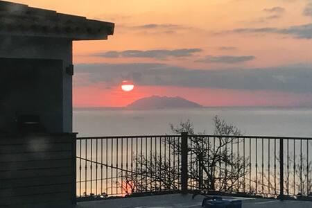 loue magnifique grand f3 neuf vu sur la mer - Poggio-Mezzana - Дом