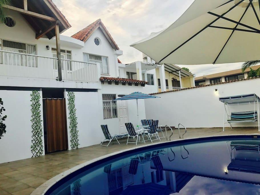 Casa con piscina privada en anapoima remodelada casas for Casa con piscina privada alquiler