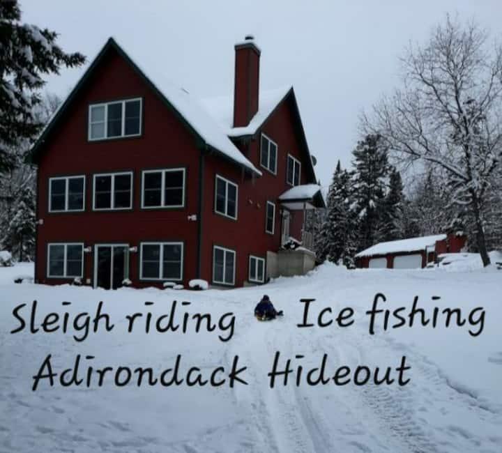 Adirondack Hideout on Chateaugay Lake
