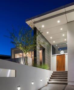 Modern Malibu home with Ocean View