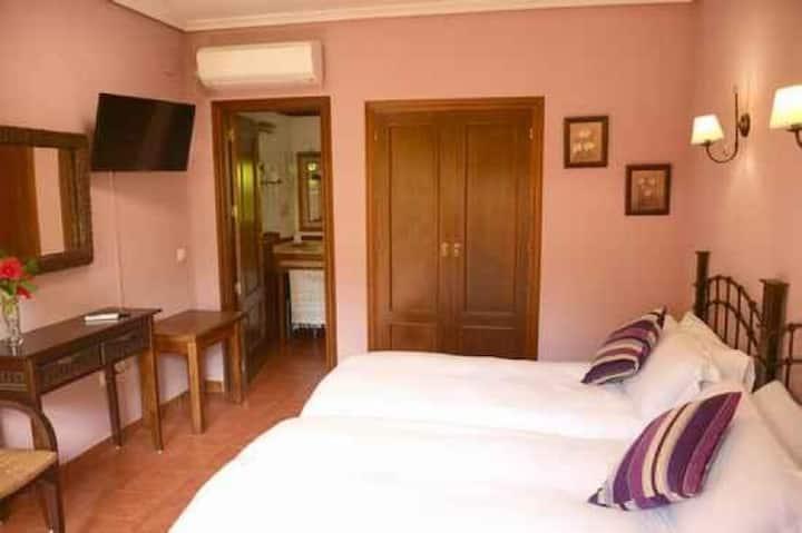 Hotel Rural El Retiro, Habitación de dos camas