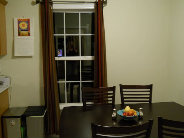 Dining Area in Eat In Kitchen