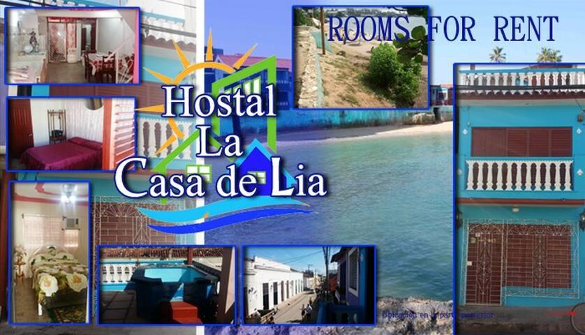 HOSTAL LA CASA DE LIA - Gibara - Huis