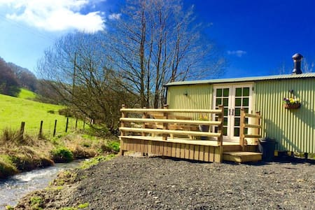 BRAND NEW Luxury Shepherd's Hut in Mid Wales - Abercegir - Skjul