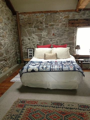 lower level queen bed