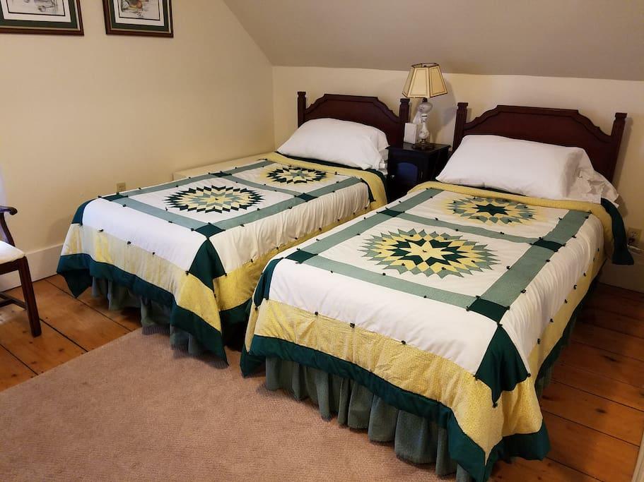 Twin Beds Room 2