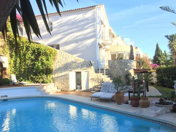Luxury villa for a big family
