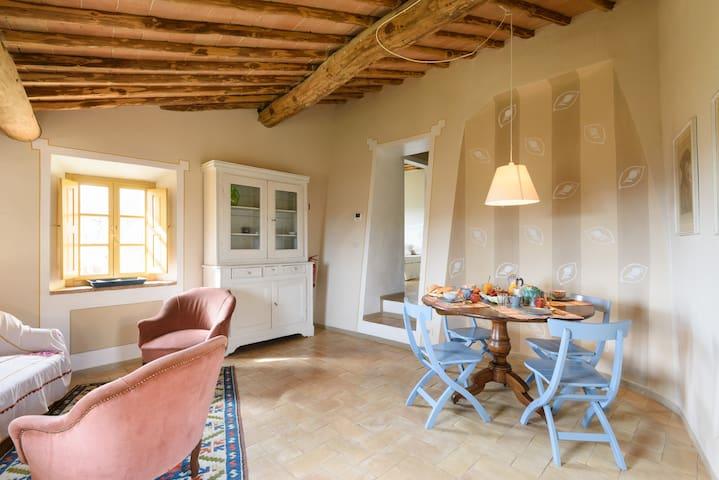 Borgo Personatina - La Corte - Siena - Sovicille - Flat