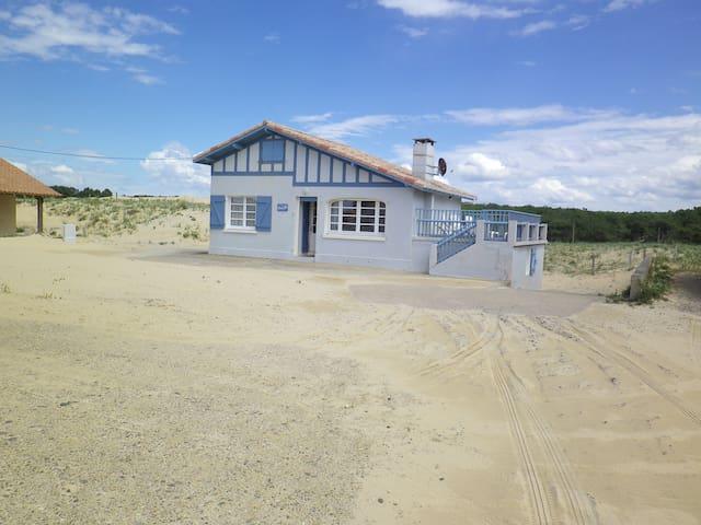 maison sur la dune plage st girons