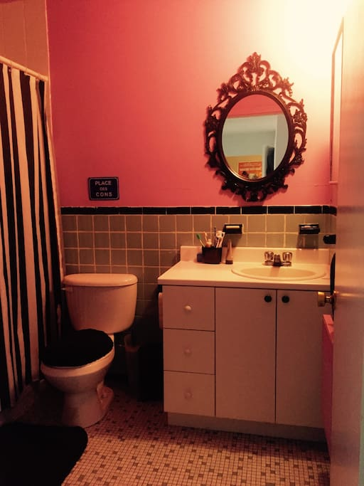 Princess bathroom. Salle de bain de princesse.