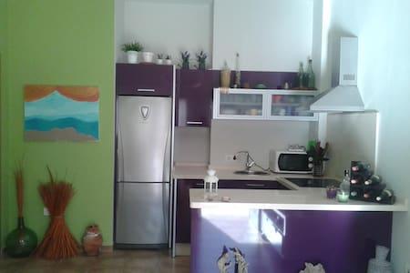 Coqueto y nuevo apartamento - Могер