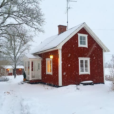 Lovely soldiers cottage in the heart of Sweden!