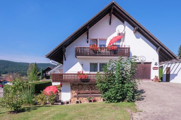 Apartment with private sun terrace, centrally located in the Southern Black Forest.