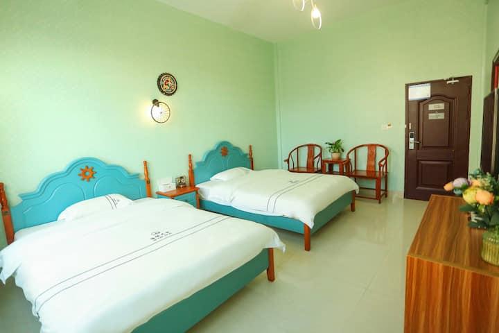 湄洲岛海缘之家宾馆—美式主题亲子房「码头接送+自助厨房」