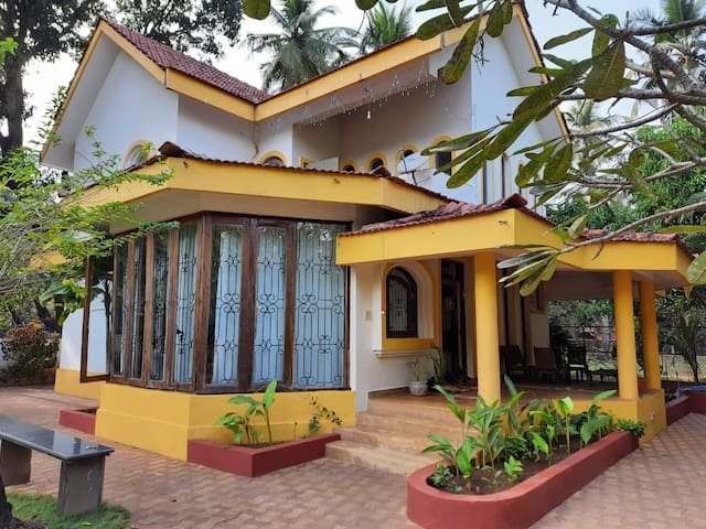 3 BHK Pvt. Villa close to Morjim Beach