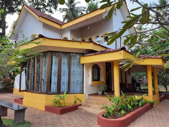 3 BHK Pvt. Villa close to Morjim Beach