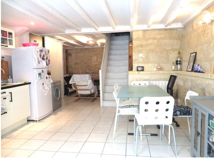 Charmant duplex bordeaux appartements louer bordeaux for Duplex bordeaux