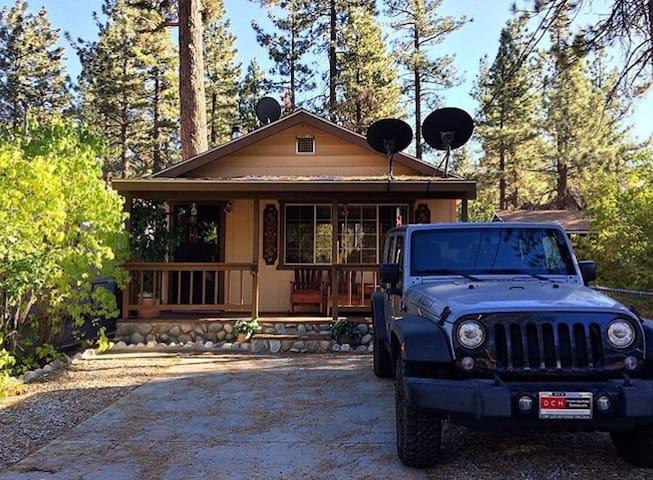 Cozy getaway cabin!