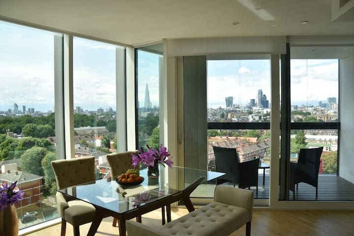 London amazing view serviced apartment