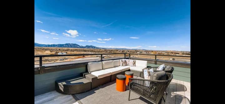 Four story stunner with amazing rooftop deck