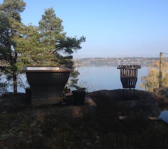Unik stuga vid sjön Drevviken på Höjden! - Vendelsö - Cabana