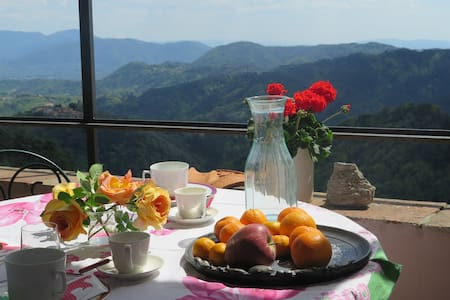 The mountain biker's house in Gombitelli