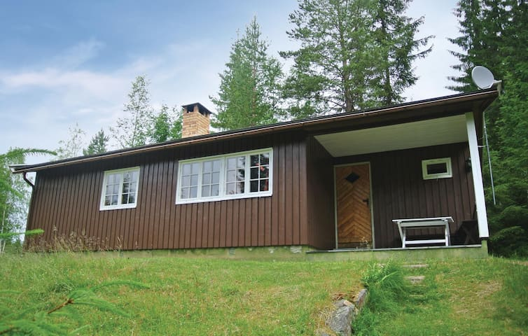 Holiday cottage with 2 bedrooms on 62m² in Hurdal