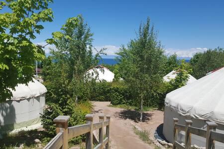 Отдых, дайвинг на Иссык-куле - Tamga - 蒙古包
