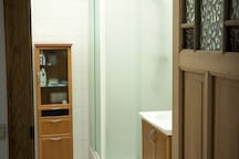 badkamer (douche, lavabo, toilet)