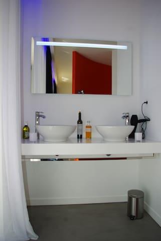 salle d'eau privée