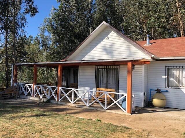 Casa Campo Para Relajó en Colbún, Lago Machicura