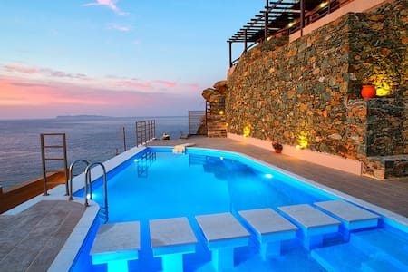 【THE BEST】Villa*Airplane Sea View*Private Pool - Sitia - Villa