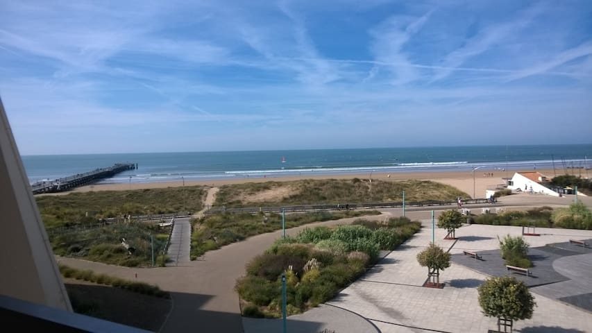 FACE OCEAN - EXCEPTIONAL VIEW - Saint-Jean-de-Monts - Apartamento