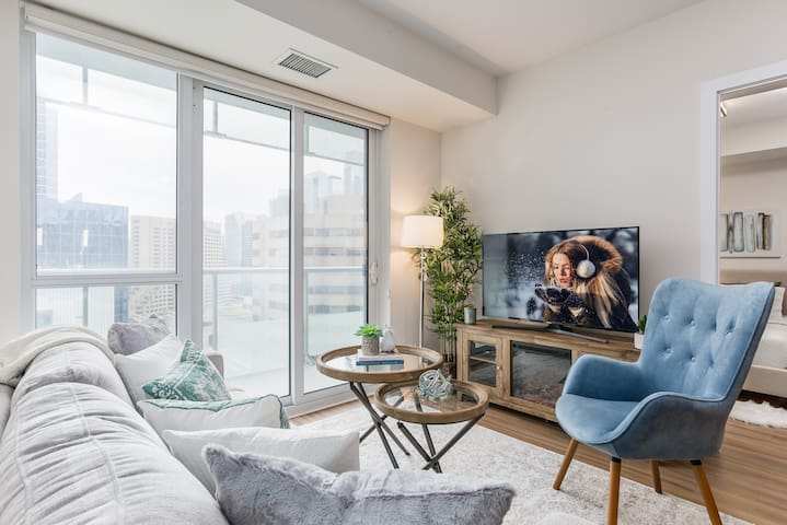 Stylish 2-Bedroom Downtown Condo