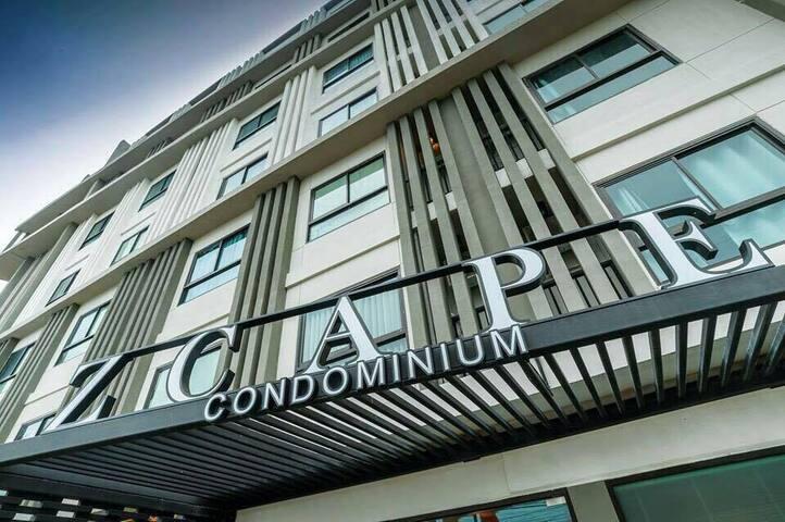 Zcape 2 Condominium Nice Location Best View - Choeng Thale - Appartement en résidence