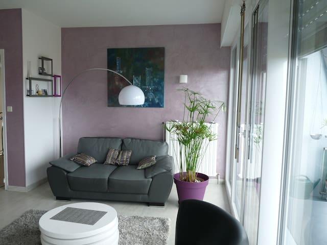 chouette appartement vue sur mer - Équeurdreville-Hainneville - Apartamento