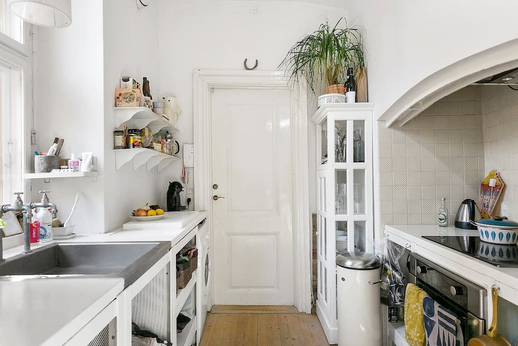 Danish-style kitchen