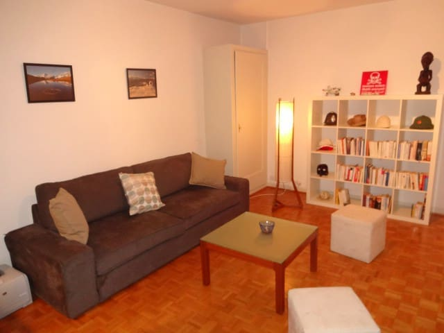 Spacious apartment with balcony close to the UN - Genève - Appartement