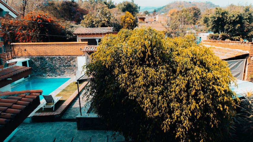 Villa Santiago|Casa descanso con piscina