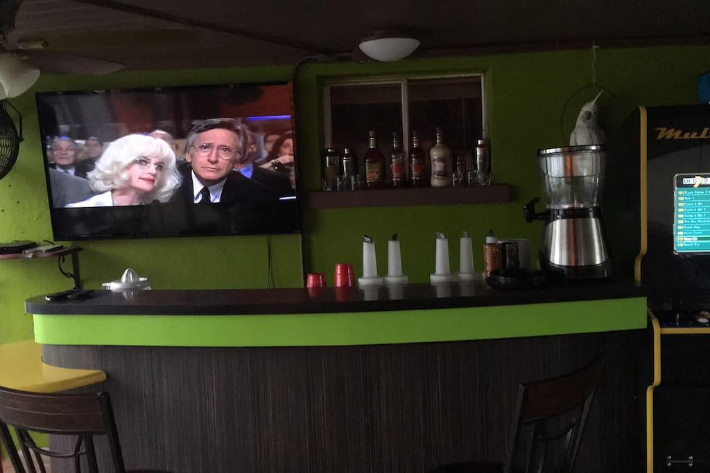 Our Margarita bar