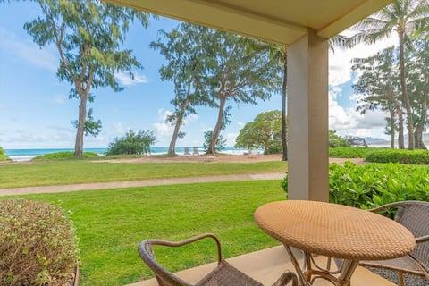 Kauai Direct Oceanfront On Corner Condo #154