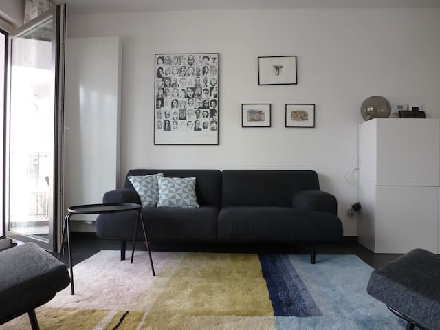 Comfortable and bright appartement - Schaerbeek - Daire