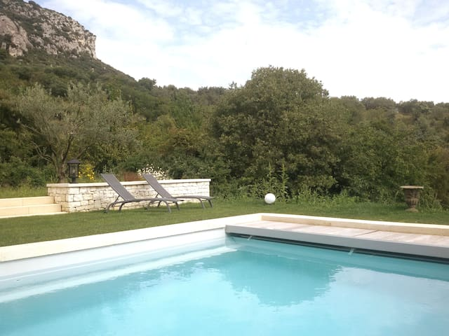 Villa Les Oliviers with private pool