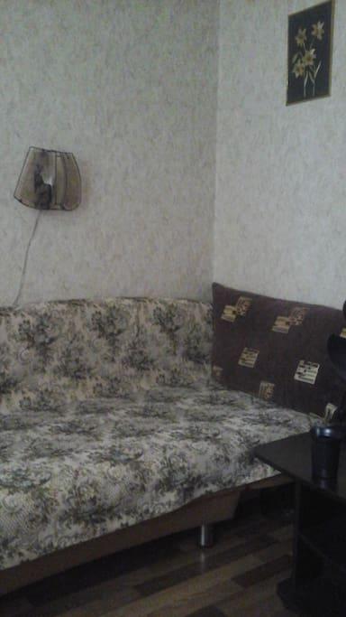 Уютный и комфортный диван