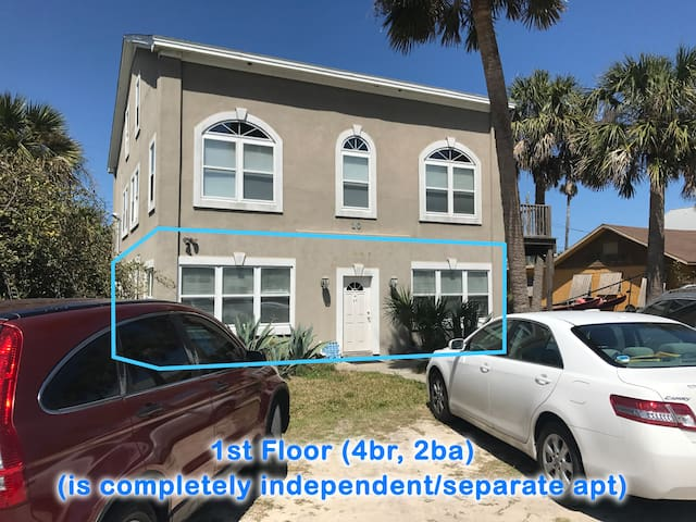 Easy beach access, centrally located for walking - St. Augustine Beach - Apartment